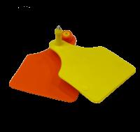 Бирка под щипцы с иглой 61*80 мм