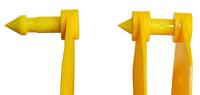 Бирки ушные двойные средние для мечения КРС под щипцы